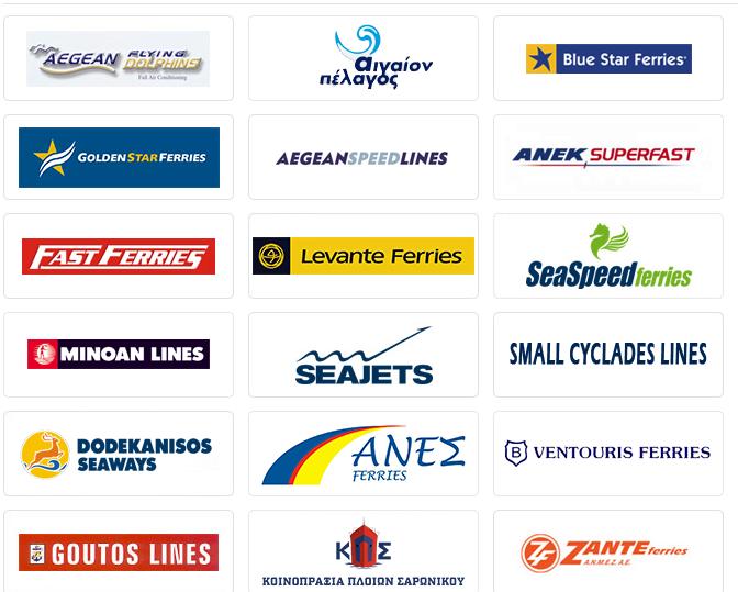 Βρες τοακτοπλοϊκό σου εισιτήριοαπό όλες τις εταιρίες στην Ελλάδα Hellenic Seaways, Blue Star Ferries,Dodekanisos Seaways,Zante Ferries,Fast Ferries,Fast Ferries